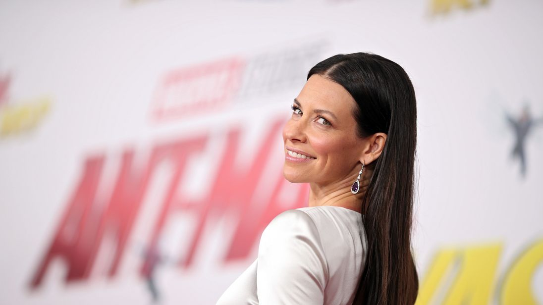 Evangeline Lilly attends the premiere of Disney And Marvel's Ant-Man And The Wasp