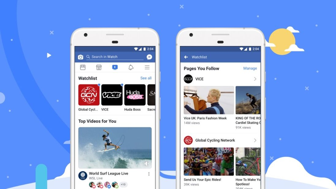 Facebook Watch is being rolled out globally
