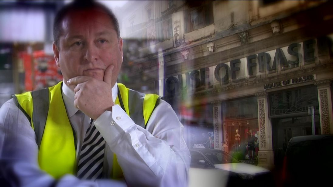 Mike Ashley has had a long-standing desire to move his retail empire upmarket