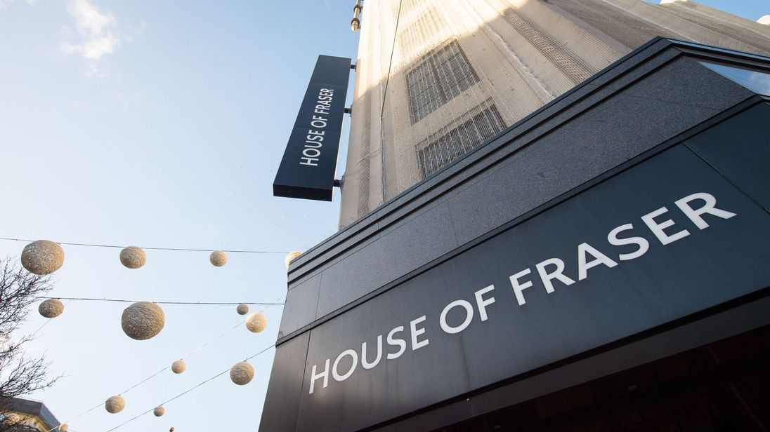 Sports Direct boss steps down after House of Fraser takeover