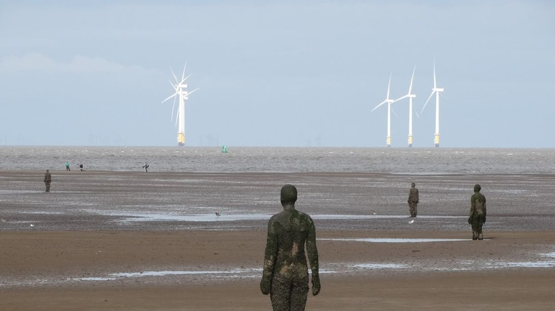 Liverpool Resisters Criticised For Anti Trans Sticker Stunt On Crosby Beach Statues