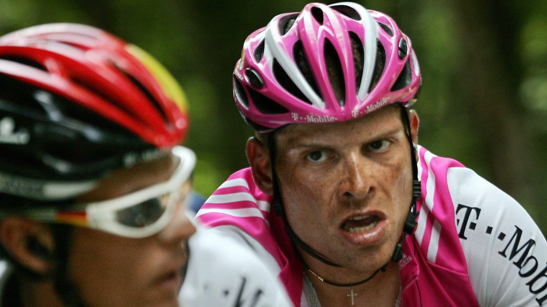 Jan Ullrich admitted in 2013 that he was involved with blood doping