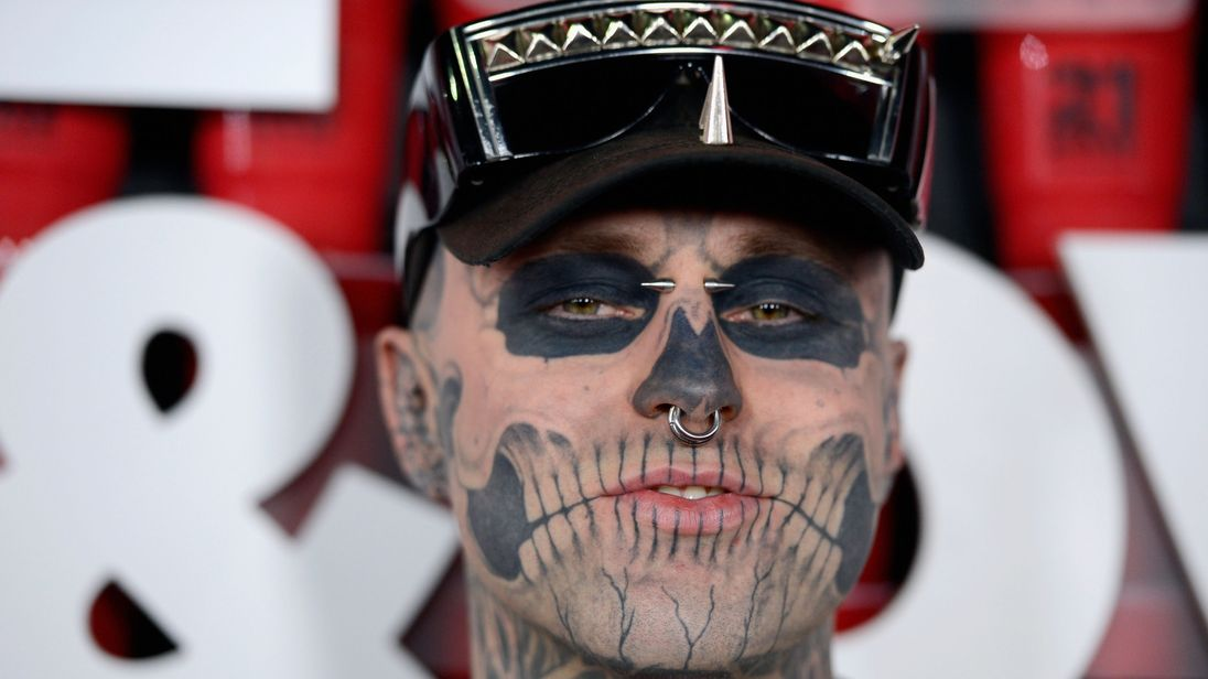 Lady Gaga led tributes to Zombie Boy