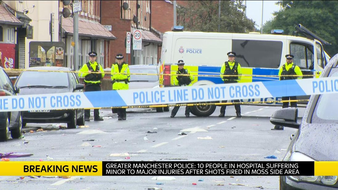 Image score for Ten People at Hospital After Shots Fired in Manchester