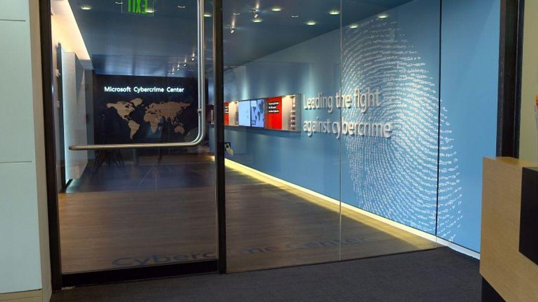 Microsoft's cyber crime centre