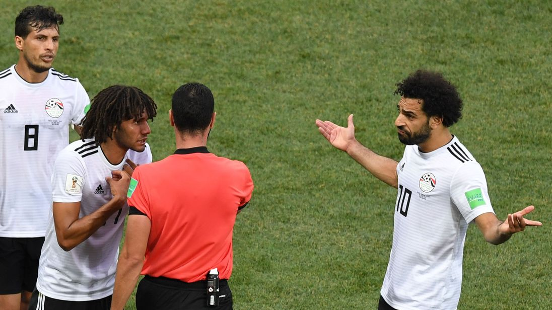 Salah revives Egyptian FA dispute