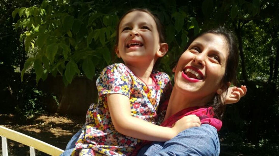 Husband: British Woman Freed Temporarily from Iranian Prison