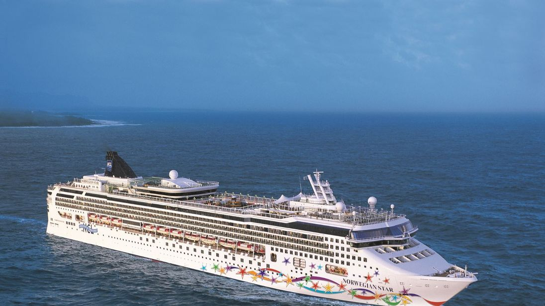 Woman rescued 10 hours after falling from a cruise ship