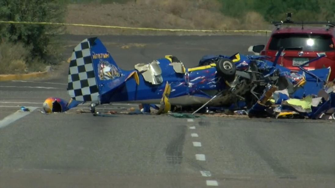 The pilot and sole passenger were killed. Pic: ABC15.com