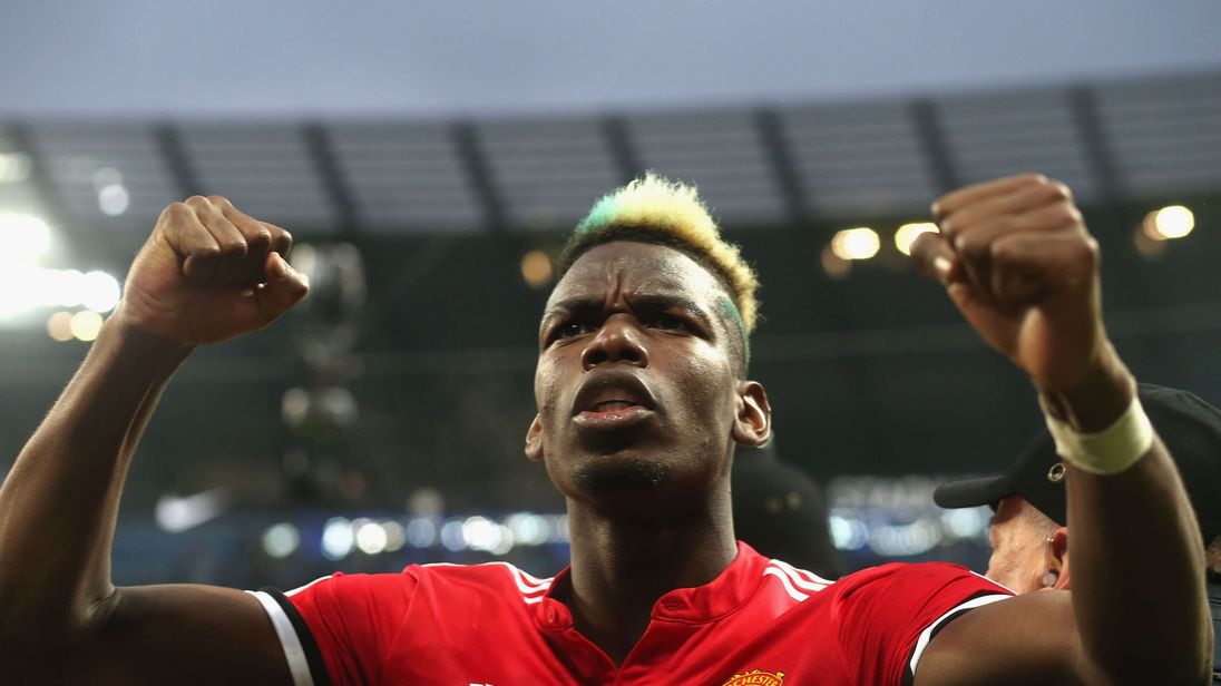 There is speculation that Paul Pogba could leave Manchester United for Barcelona