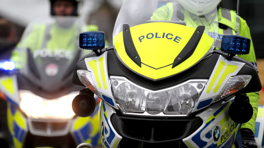 Follow live updates as police across the UK tackle crime today