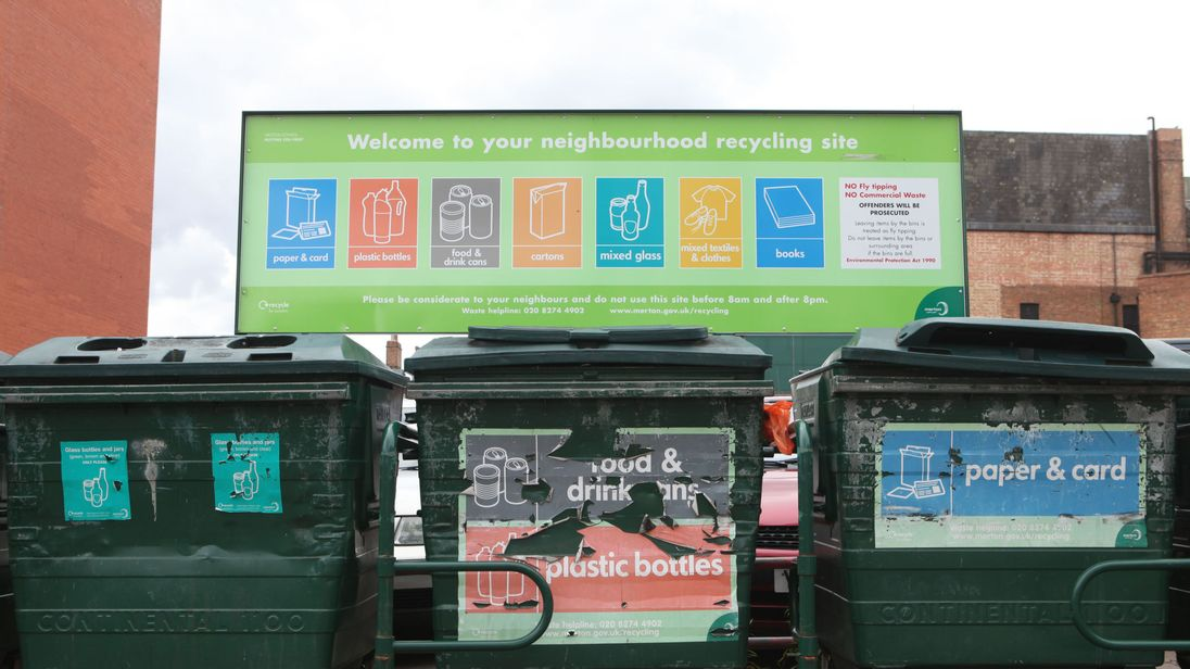 Only a third of the plastic in packaging pots and trays for food bought by households can be recycled