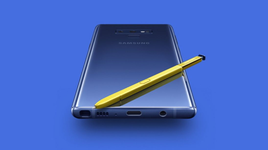 Samsung's Note 9 phablet is aimed at gamers