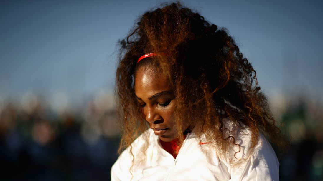 Williams has never been beaten so badly in her professional career