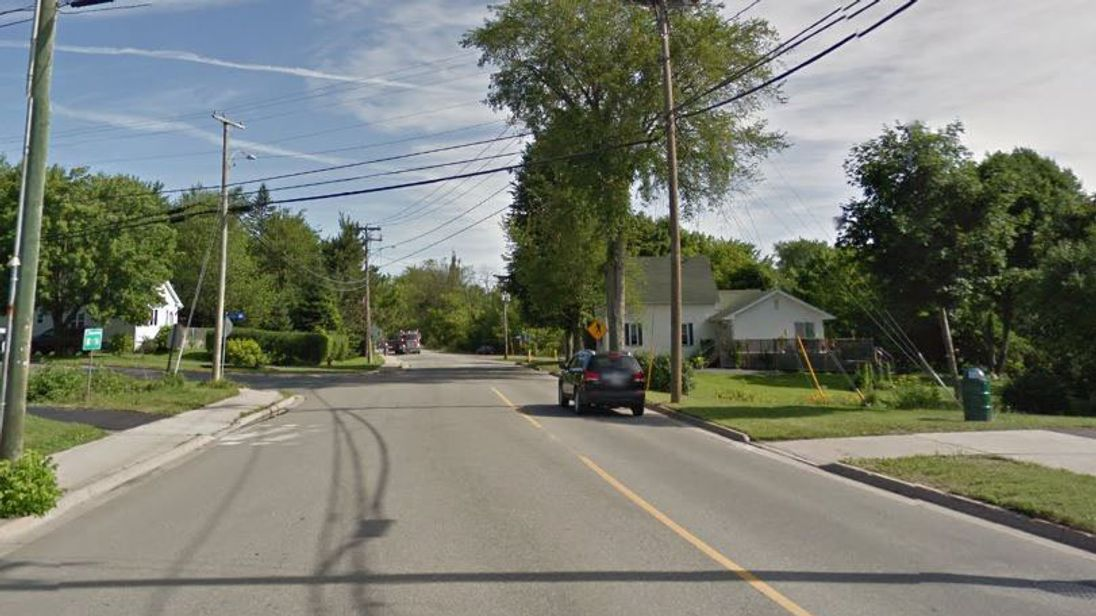 Brookside Drive is the scene of an ongoing incident. Pic Google Street View