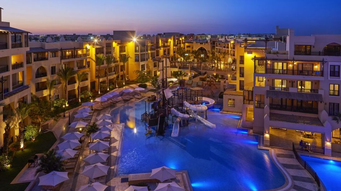 Steigenberger Aqua Magic Hotel in Hurghada. Pic: Steigenberger