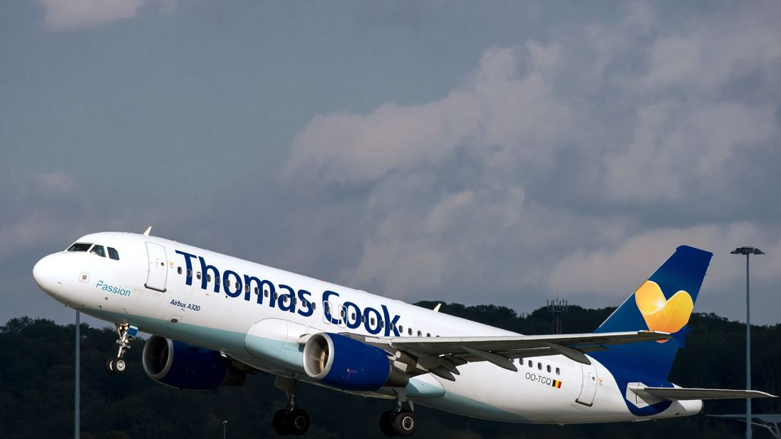 Thomas Cook blames heatwave for profit warning