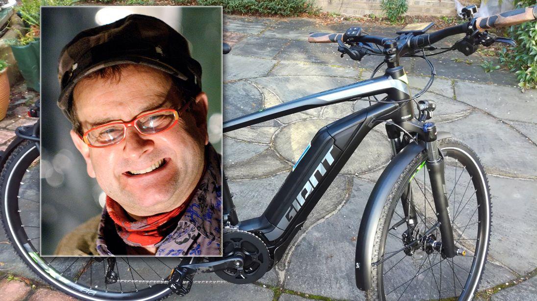 Timmy Mallet's bike stolen