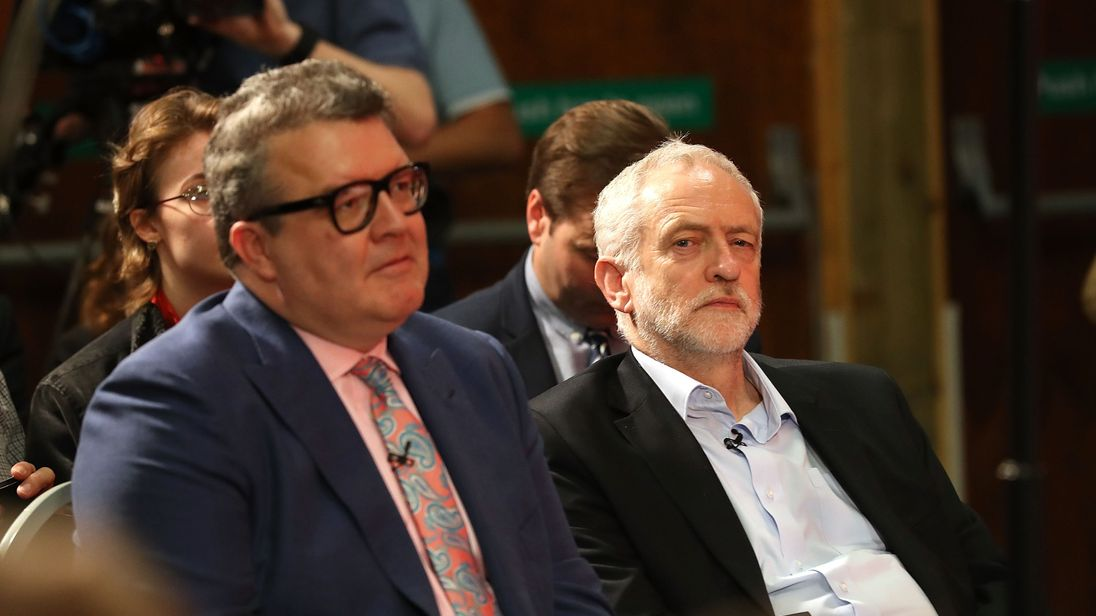 Labour deputy leader Tom Watson hits out at Corbyn's anti-semitism stance