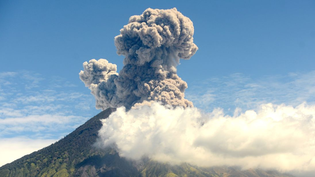 volcanic eruption helped defeat napoleon study claims
