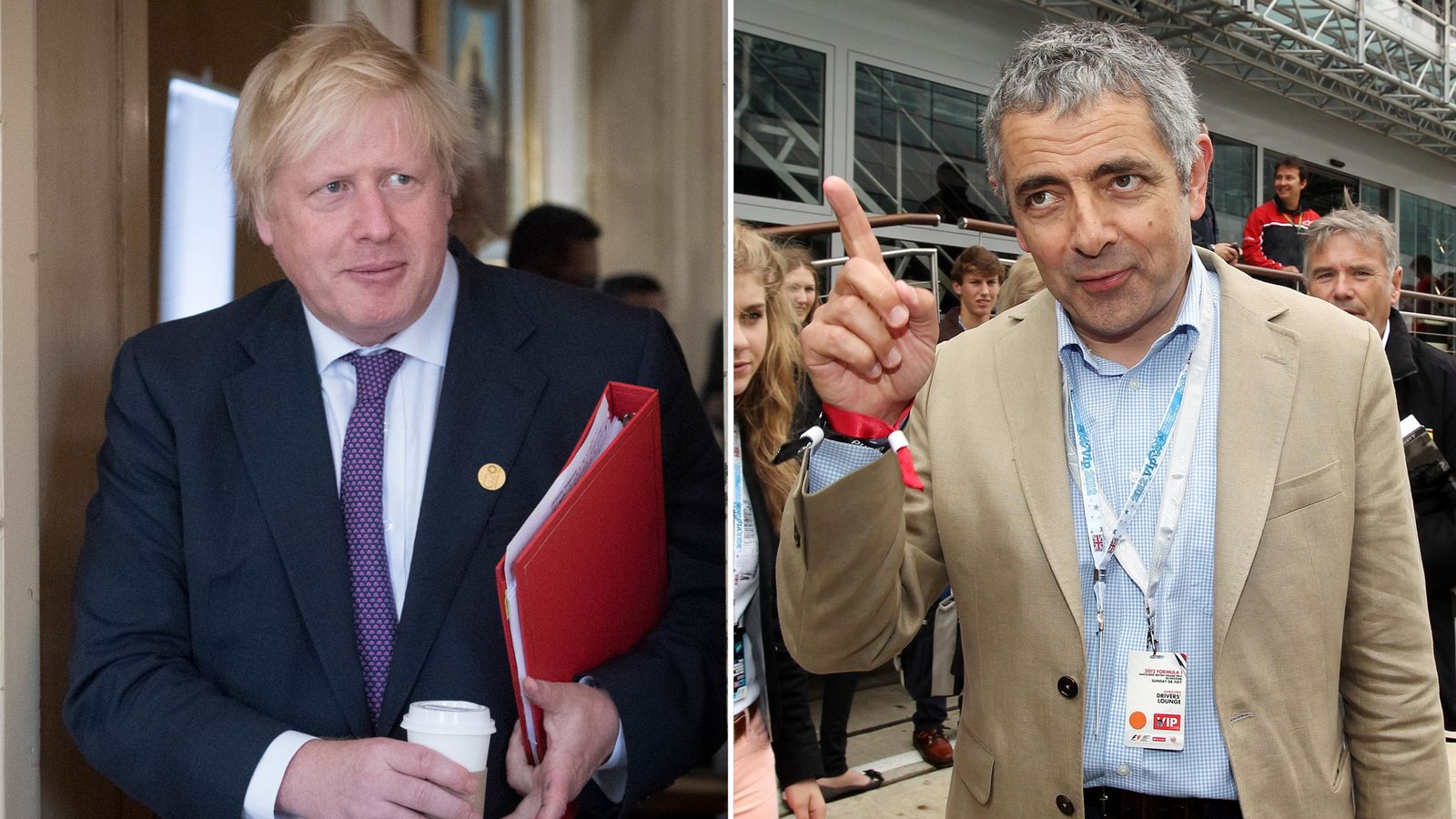 Rowan Atkinson among those leaping to Boris Johnson's defence over burka comments
