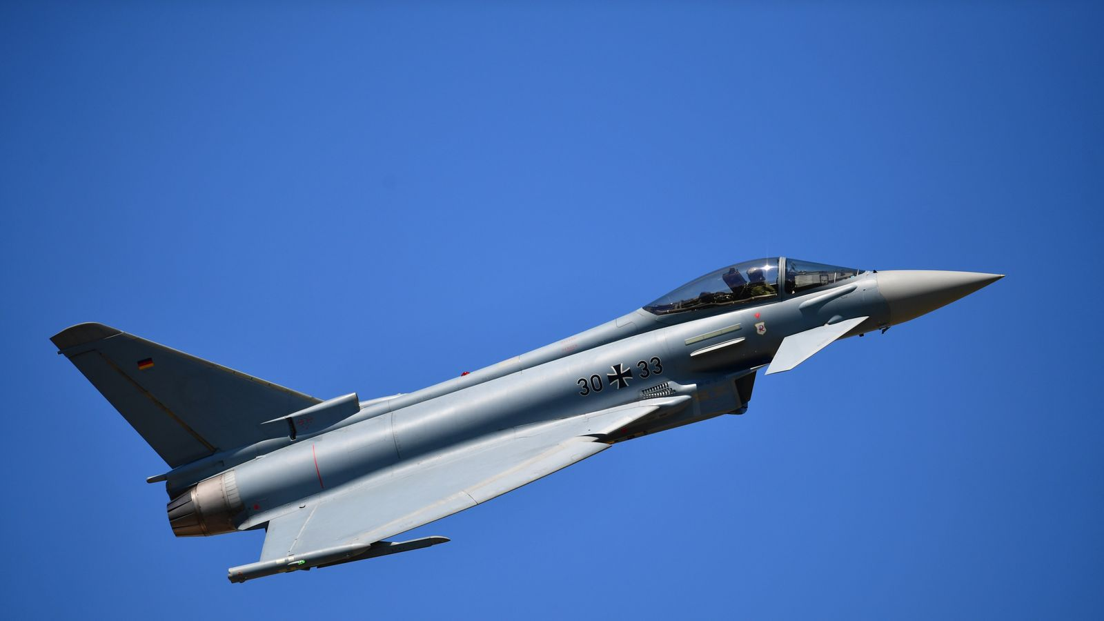 Spanish fighter jet accidentally fires missile in Estonia