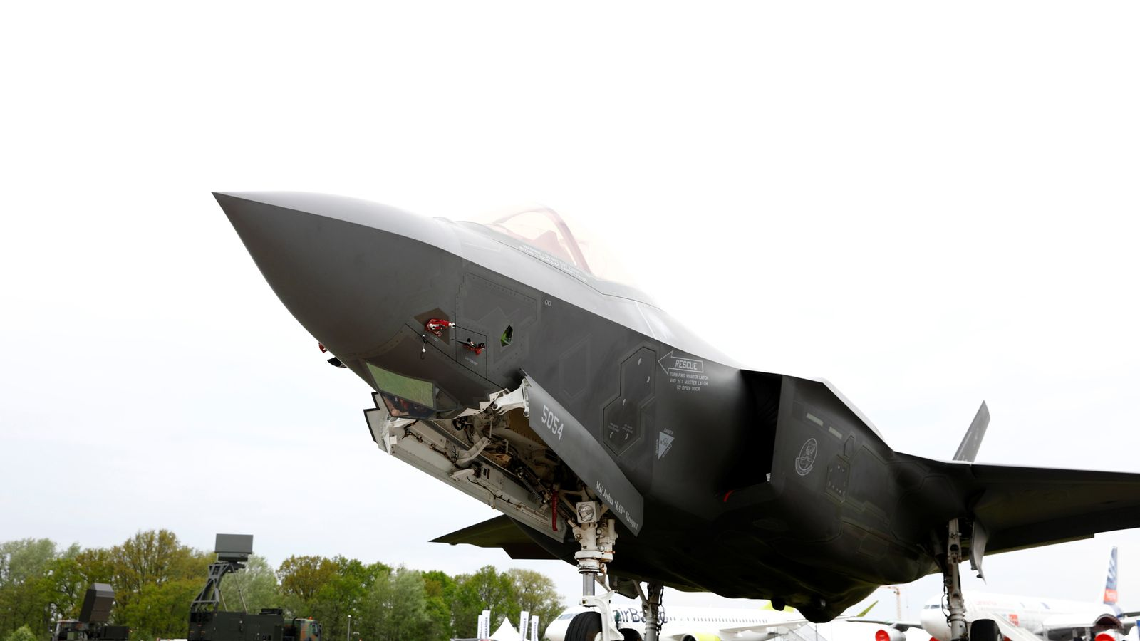 F-35 jets: Chinese-owned company making parts for top-secret UK-US fighters