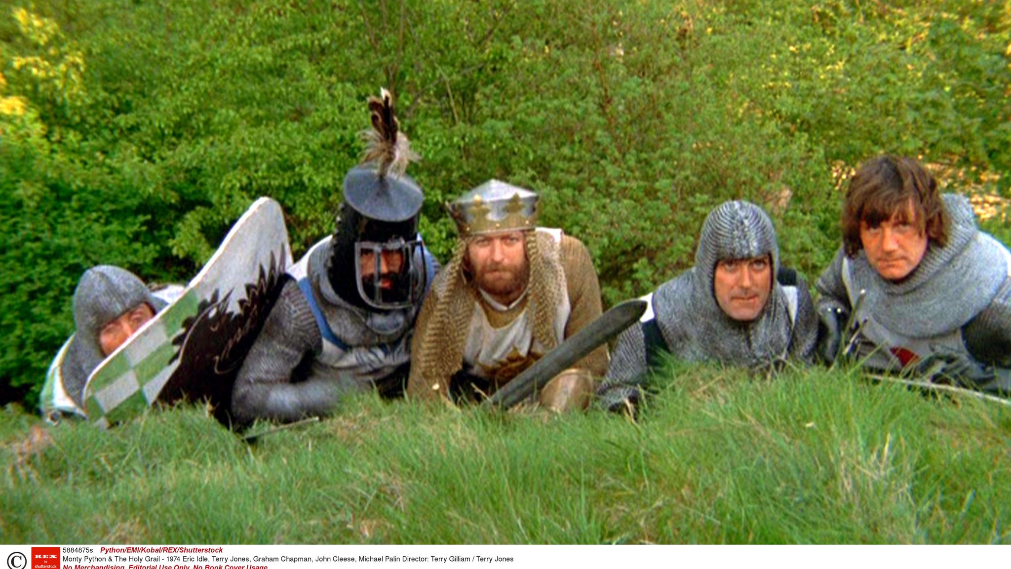 Monty Python New Holy Grail Sketches Found In Michael Palin S