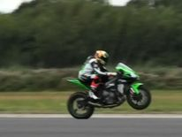 Wheelie performed at 200mph
