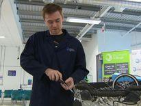 Noah Belcham is starting an apprenticeship with Rolls-Royce