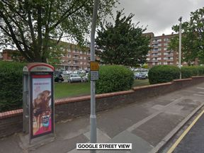 Police were called to Cambridge Gardens in Kingston in the early hours of Sunday morning