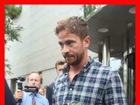 Danny Cipriani leaves Jersey Magistrates' Court
