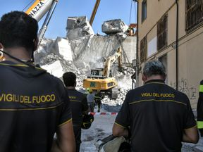Genoa rescuers