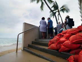 Residents in Hawaii have been told to prepare for the worst