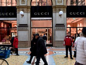 Gucci is among those owed money by House of Fraser
