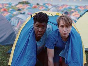 Joe Thomas and Hammed Animashaun in new comedy The Festival