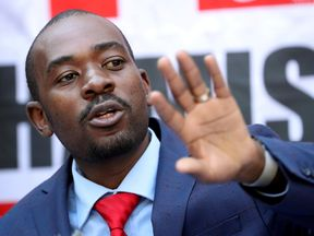 Mr Chamisa says he has evidence election was rigged