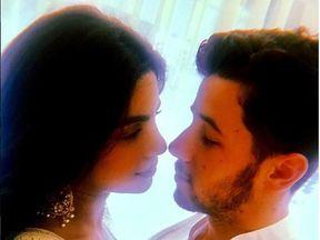 Priyanka Chopra and Nick Jonas confirm their engagement. Pic: Instagram/NickJonas