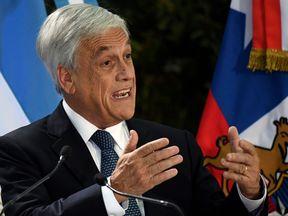 President Sebastian Pinera announced Chile's plastic bag ban