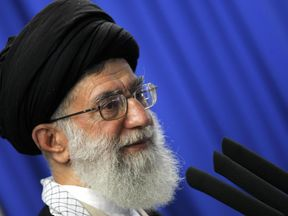 Ayatollah Ali Khamenei of Iran.