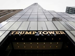 The body was discovered at Trump Tower