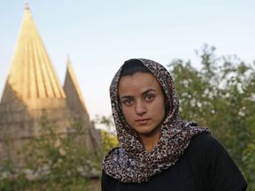 Ashwaq Haji Hami, 19, said her IS captor tracked her down in Germany