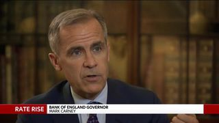 Risk of no deal Brexit 'uncomfortably high' - Carney