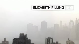 Timelapse video shows a storm in New York City