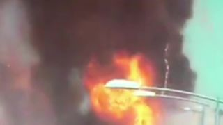 One dead after tanker explodes in road crash