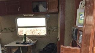 The compound in Amalia, New mexico, where the children were found. Pic: Taos County Sheriff