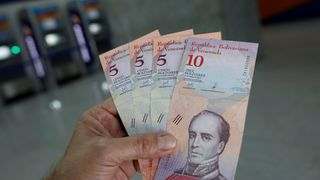 President Maduro is hoping the new 'sovereign bolivar' currency  will reduce hyperinflation