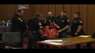 Court officers use duct tape to silence Franklyn Williams