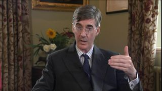 Jacob Rees-Mogg told Sky he did not think Boris Johnson was mocking