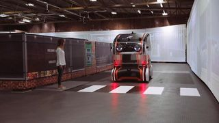 Jaguar Land Rover create driverless cars with eyes